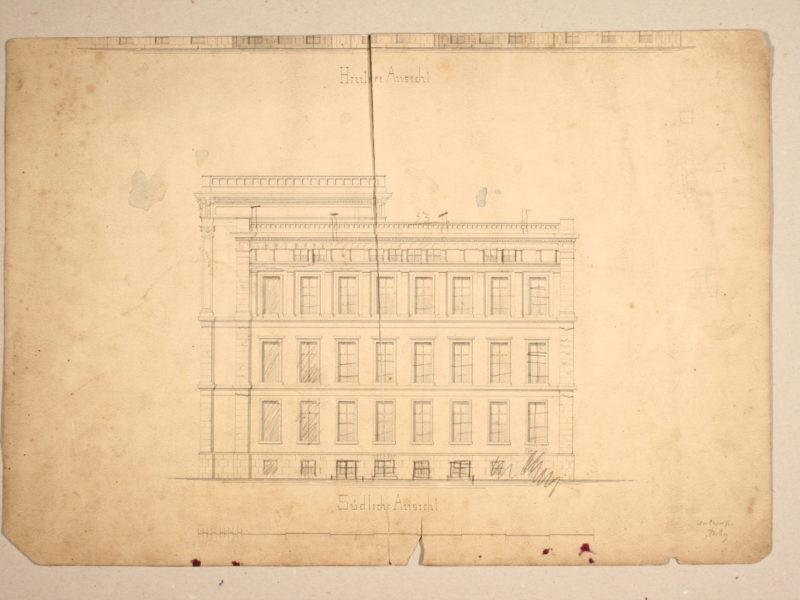 04 1869 c. - Herzog - elewacja boczna