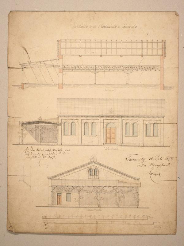 10 1873 c. - Herzog - hala sportowa