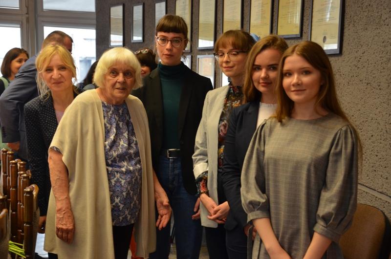 Spotkanie z profesor Aliną Kowalczykową