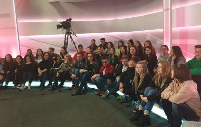 Warsztaty w studiu TVN