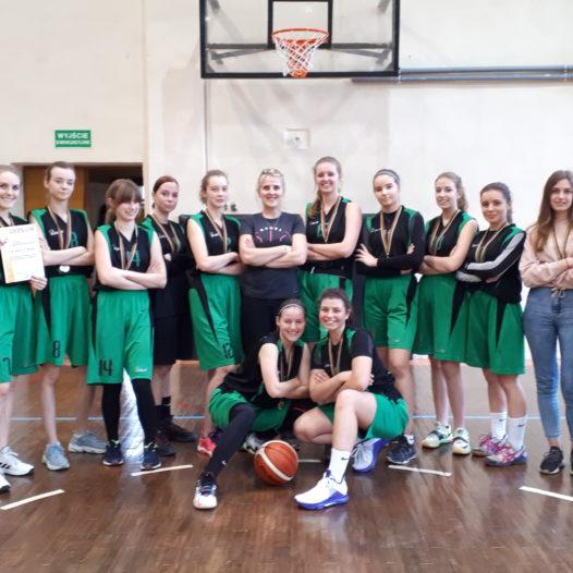 Drużyna koszykówki dziewcząt