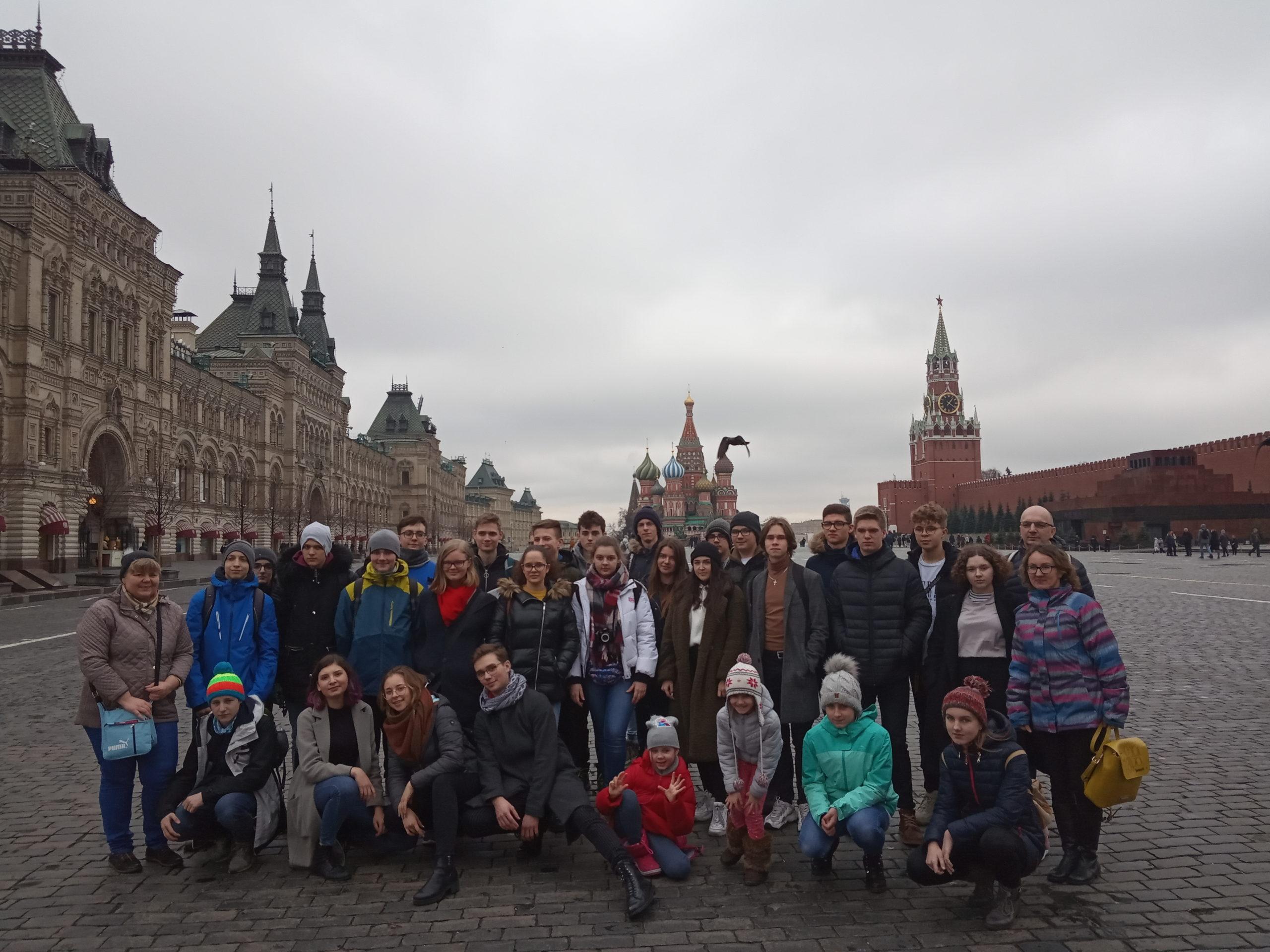 Do Dubnej przez Wilno i Moskwę
