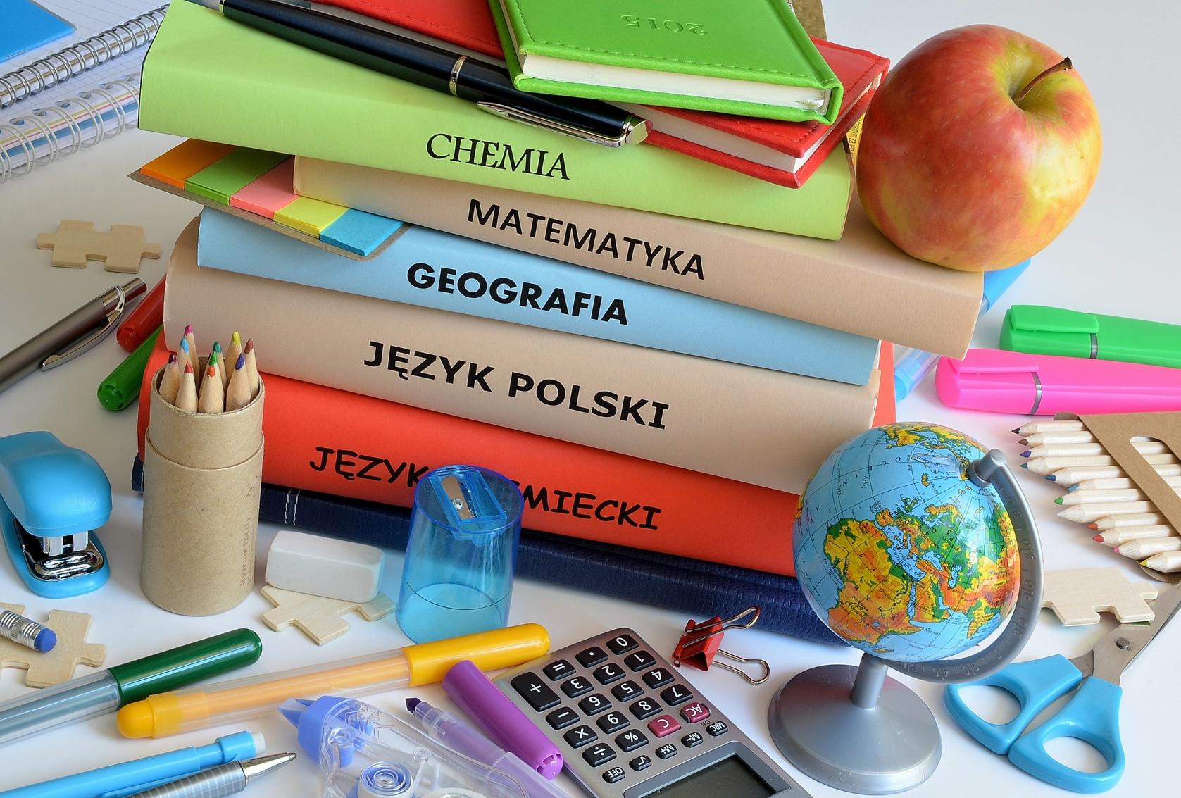 Lista podręczników dla klas 1