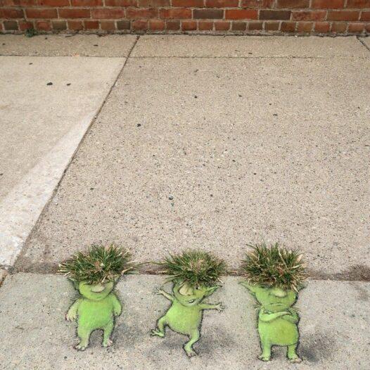 Street art, czyli nasza odpowiedź na szkołę w czasie pandemii…