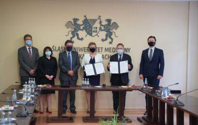 Porozumienie ze Śląskim Uniwersytetem Medycznym