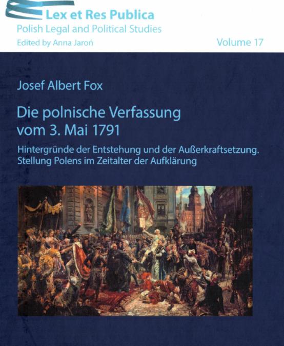 Józef Fox o Konstytucji Trzeciego Maja